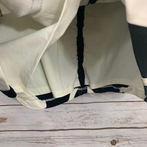 White House Black Market Skirts - WHBM Black White Neutral Lined Career Pencil Skirt
